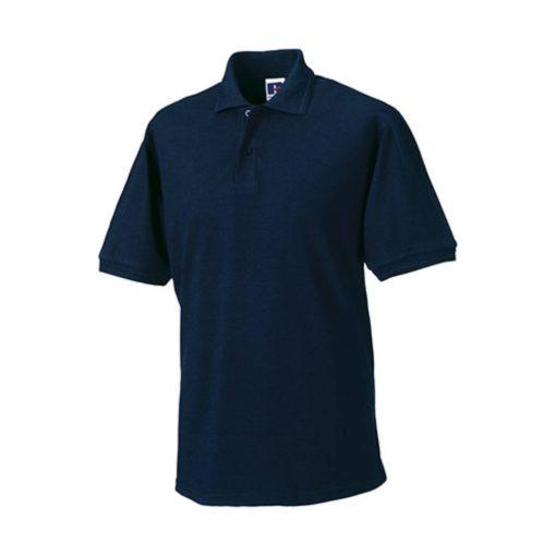 Férfi galléros munkaruha Russel Hard Wearing Polo Shirt 5-6XL - 5XL, Sötétkék (navy)