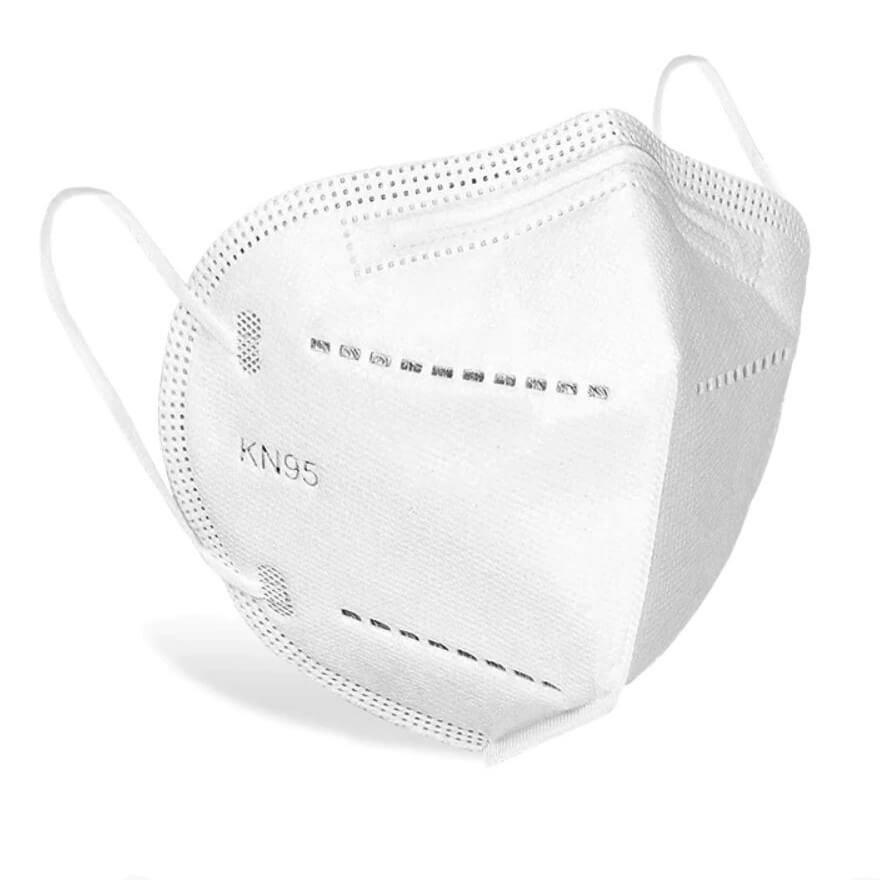 KN95 FFP2 fehér maszk szájmaszk csomagban