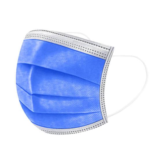 Felnőtt 3 rétegű speciális kék maszk, sebészeti szájmaszk csomagban, orvosi maszk, orvosi szájmaszk