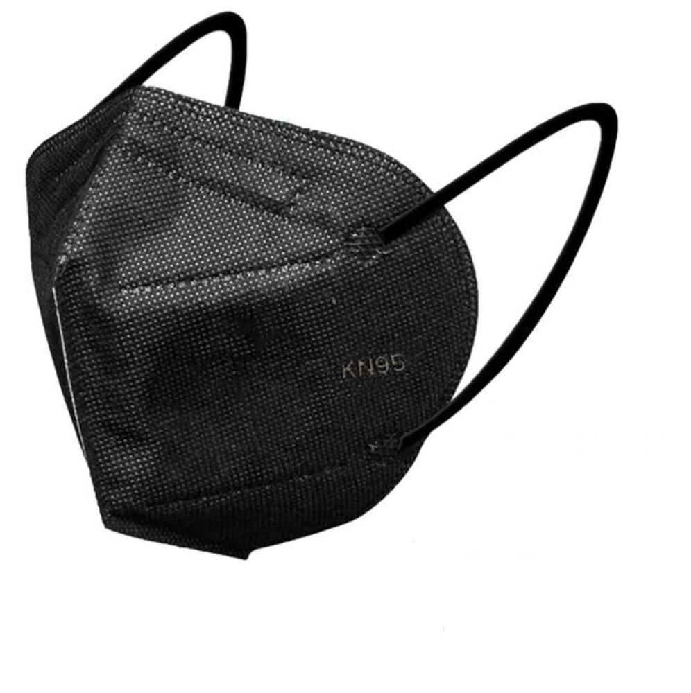 KN95, FFP2 fekete maszk szájmaszk csomagban