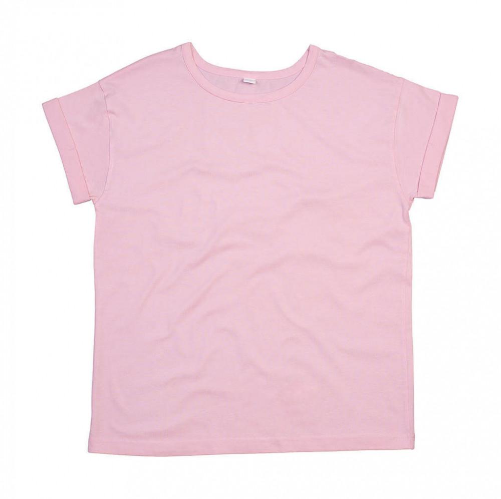 Uniszex rövid ujjú póló Mantis The Boyfriend T XL, Lágy Rózsaszín