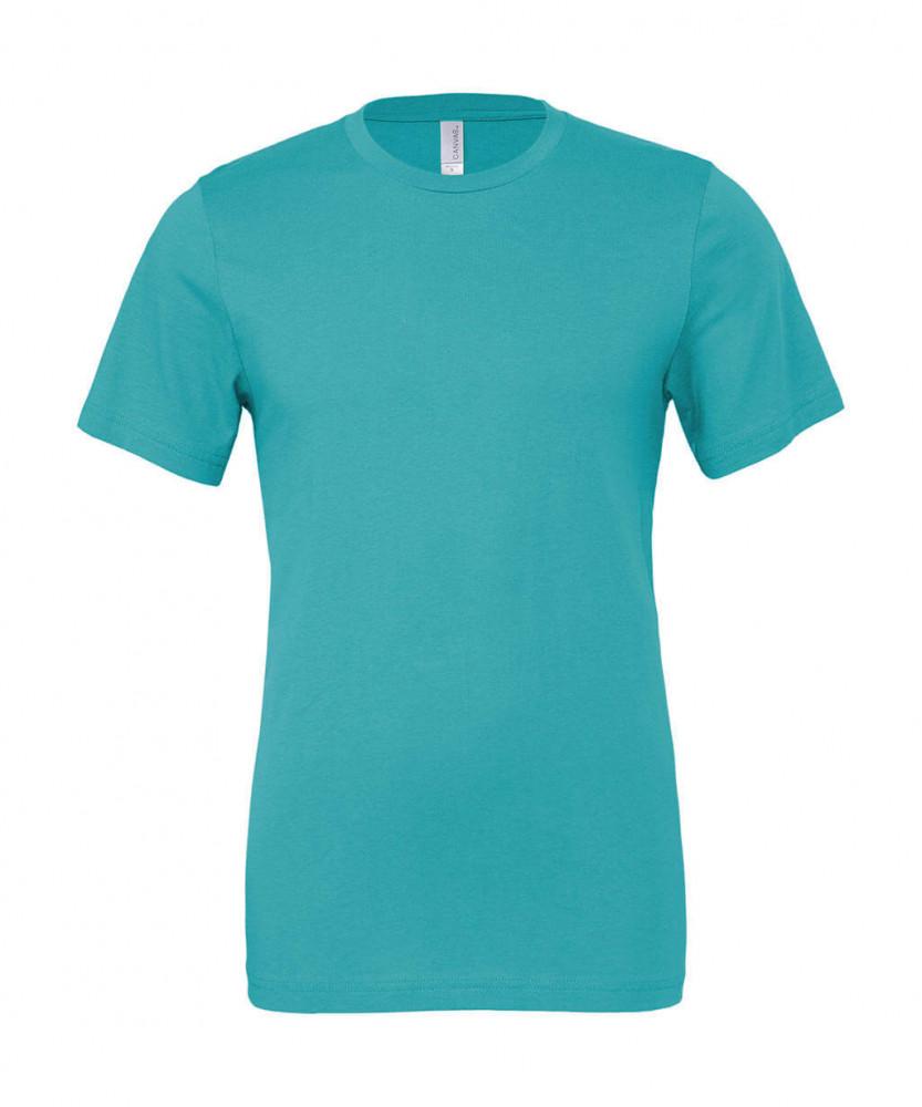 Férfi rövid ujjú póló Bella Canvas Unisex Jersey Short Sleeve Tee S, Teal