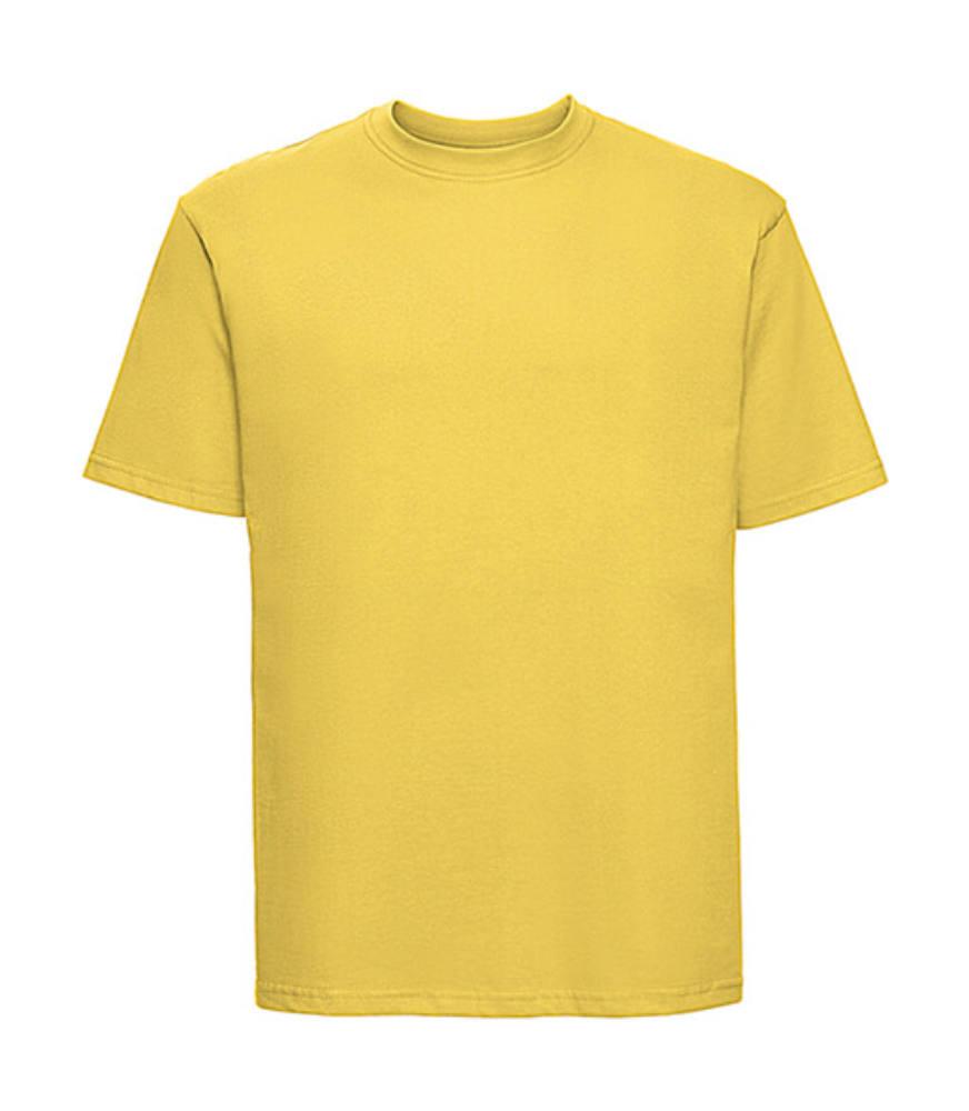 Férfi rövid ujjú póló Russell Europe Classic T -L, Sárga