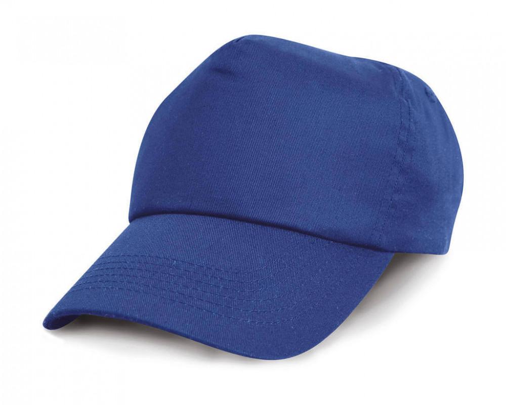 Uniszex sapka Result Caps Cotton Cap Egy méret, Királykék
