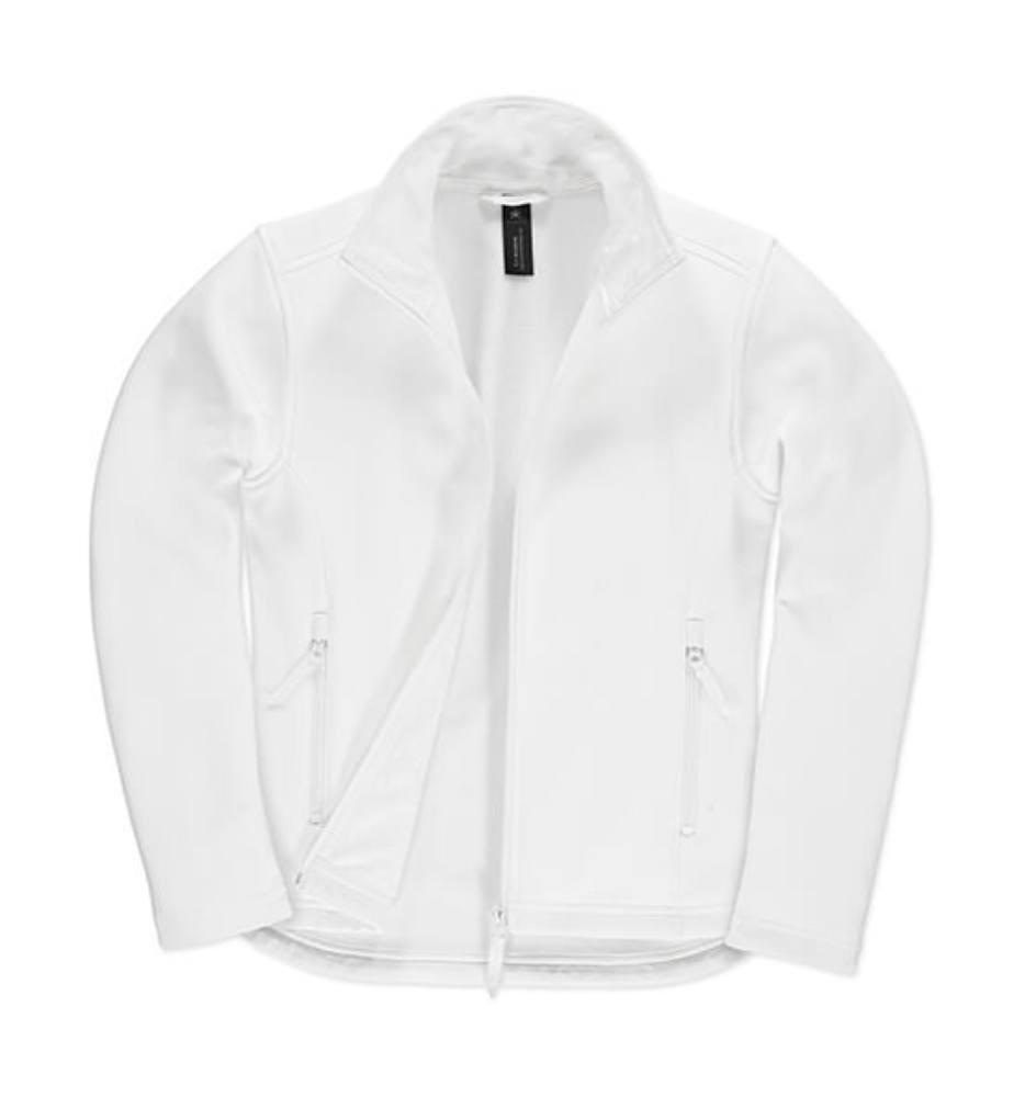Női Softshell Hosszú ujjú B&C Softshell Jacket ID.701/women - XL, Fehér/fehér