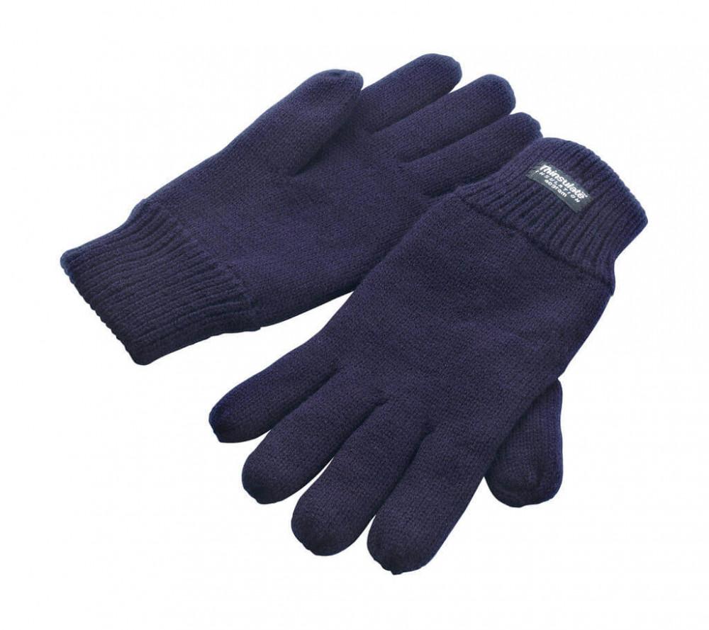 Uniszex kesztyű Result Fully Lined Thinsulate Gloves S/M, Sötétkék (navy)