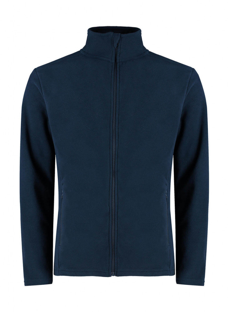 Férfi hosszú ujjú kabát Kustom Kit Regular Fit Corporate Micro Fleece XS, Sötétkék (navy)