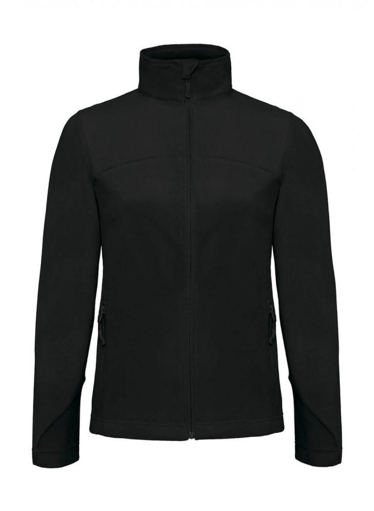 Női hosszú ujjú kabát B and C Coolstar/women Fleece Full Zip XL, Fekete