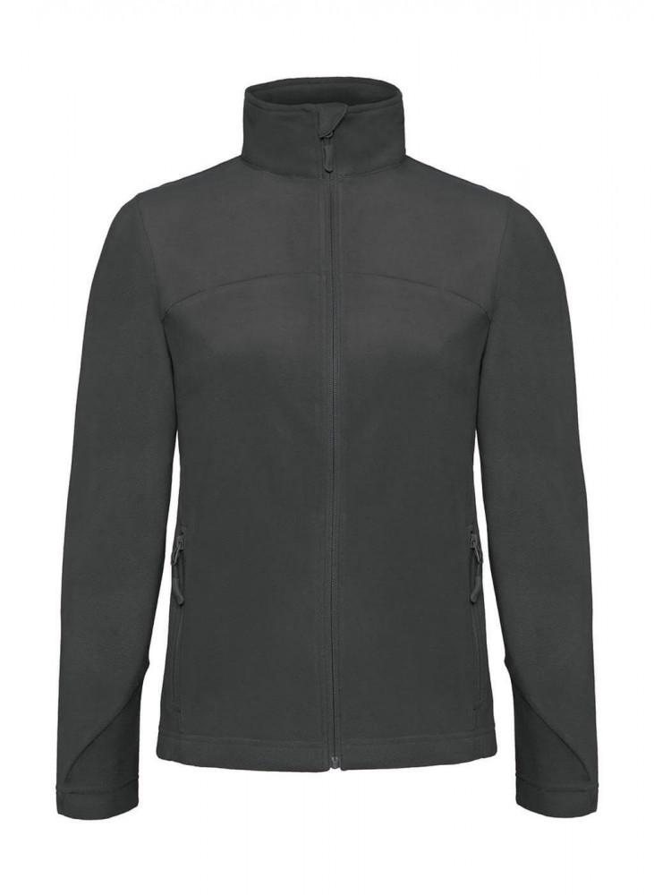 Női hosszú ujjú kabát B and C Coolstar/women Fleece Full Zip 2XL, Acélszürke