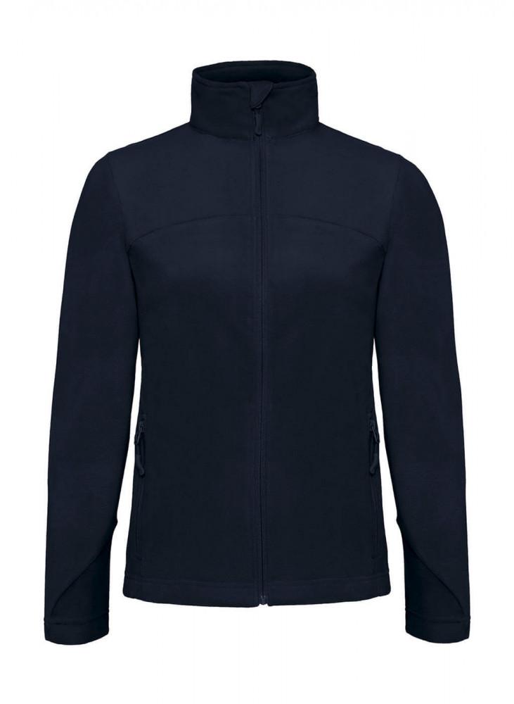 Női hosszú ujjú kabát B and C Coolstar/women Fleece Full Zip S, Sötétkék (navy)