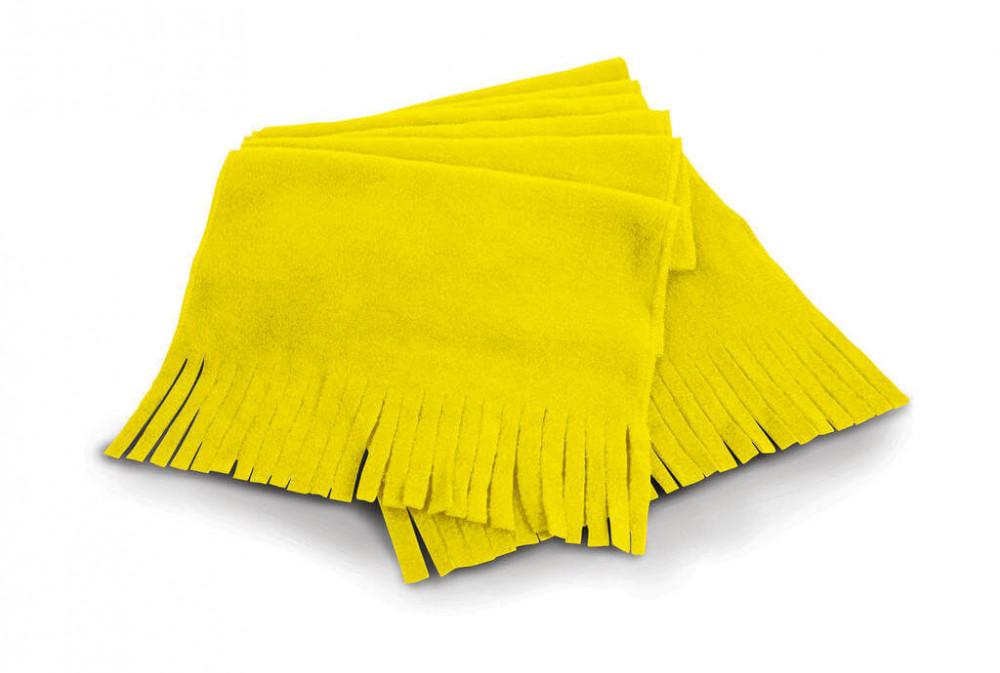 Női sál Result Polartherm™ Tassel Scarf Egy méret, Sárga