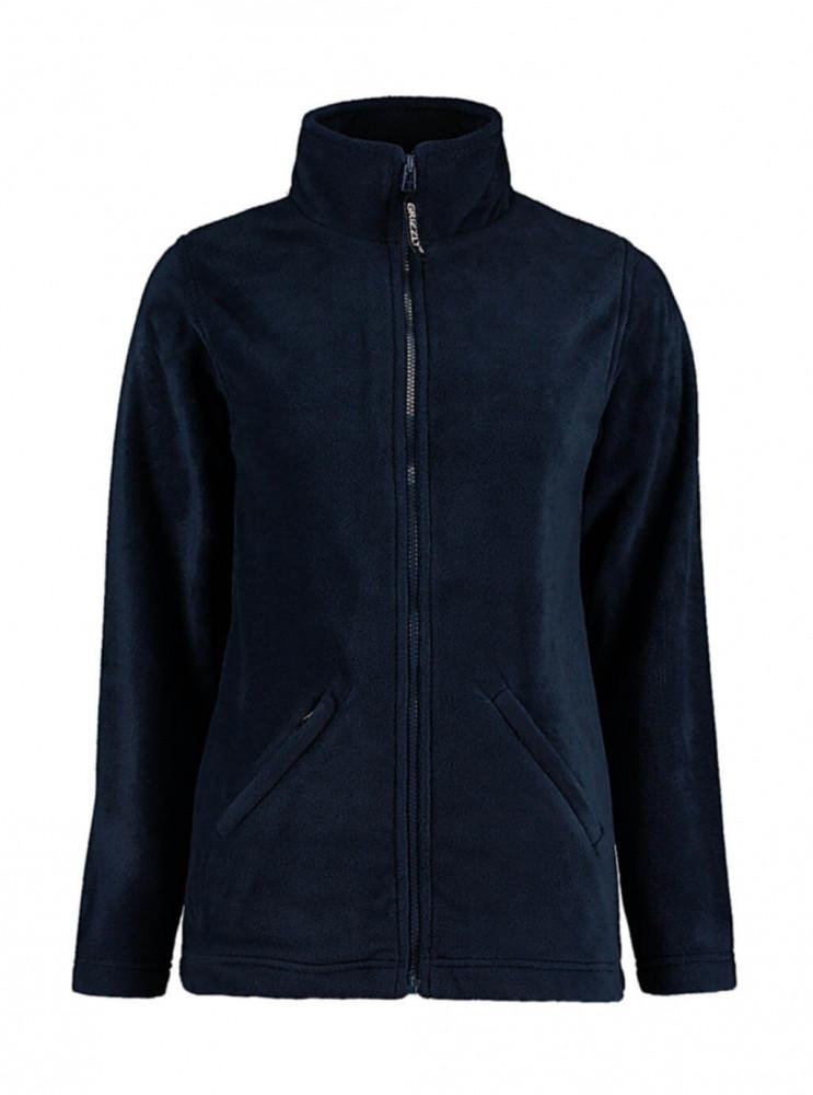 Női hosszú ujjú polár Kustom Kit Women's Regular Fit Full Zip Fleece XL, Sötétkék (navy)