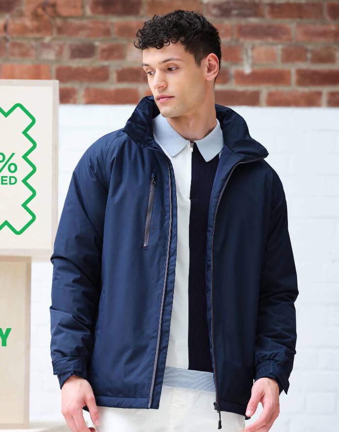 Férfi hosszú ujjú kabát Regatta Honestly Made Recycled Insulated Jacket 3XL, Sötétkék (navy)